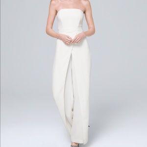WHBM White Jumpsuit